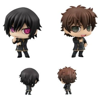 Lelouch & Suzaku Figure Code Geass Lelouch of the Rebellion Chimimega Buddy Set
