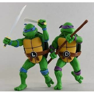 Leonardo & Donatello Teenage Mutant Ninja Turtles Figure Set