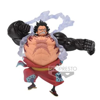 Figura Luffy Gear 4 Wanokuni One Piece King of Artist