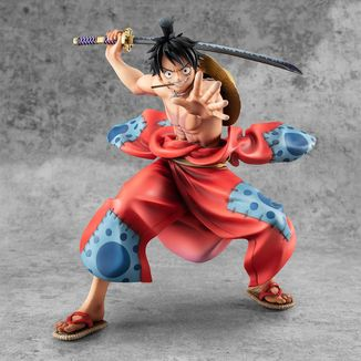 Figura Luffy Taro One Piece Warriors Alliance P.O.P.