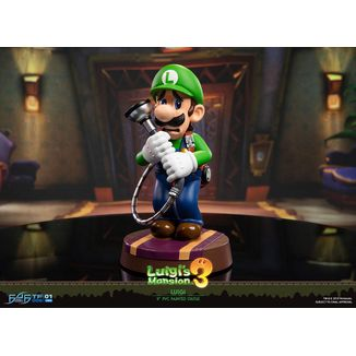 Figura Luigi & Polterpup Collector's Edition Nintendo Luigi's Mansion 3