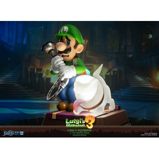 Luigi & Polterpup Collector's Edition Figure Nintendo Luigi's Mansion 3