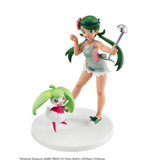 Malow & Steenee Figure Pokemon GEM