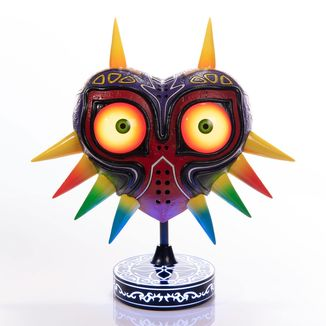 Figura Majora's Mask con luz Collectors Edition The Legend Of Zelda