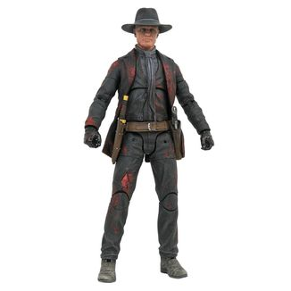 Figura Man in Black Battle Damaged Previews Exclusive Westworld