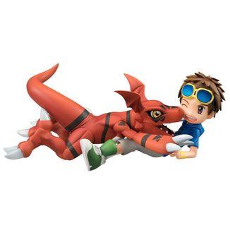 Figura Matsuda Takato & Guilmon Digimon Tamers G.E.M.