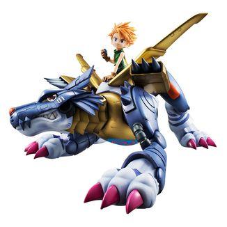 Metal Garurumon & Ishida Yamato Figure Digimon Adventure G.E.M. Precious