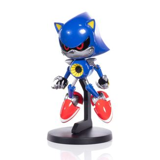 Metal Sonic Figure Sonic the Hedgehog BOOM8