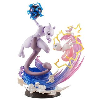 Mew VS Mewtwo Figure Pokemon GEM EX