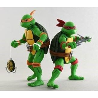 Michelangelo & Raphael Teenage Mutant Ninja Turtles Figure Set