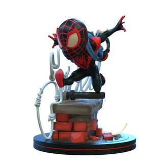 Figura Miles Morales Spider Man Marvel Comics Q Fig Elite