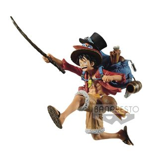 Monkey D Luffy Figure One Piece DXF Three Brothers