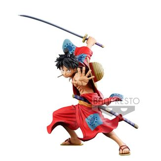 Monkey D Luffy Wano Manga Dimensions Figure One Piece Master Stars Piece