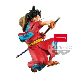 Monkey D Luffy Wanokuni Figure One Piece King of Artist