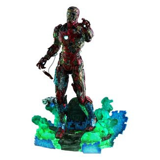 Figura Mysterio's Iron man Illusion Spider-Man Lejos de casa Marvel Comics Movie Masterpiece