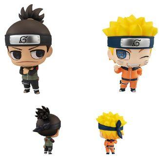 Naruto Uzumaki & Iruka Umino Figure Naruto Shippuden Chimimega Buddy Set
