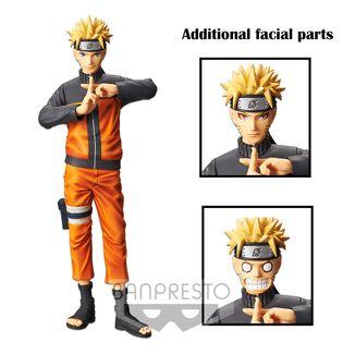 Figura Naruto Uzumaki Naruto Shippuden Grandista Nero