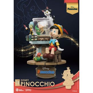 Figura Pinocho Disney Classic Animation Series D-Stage