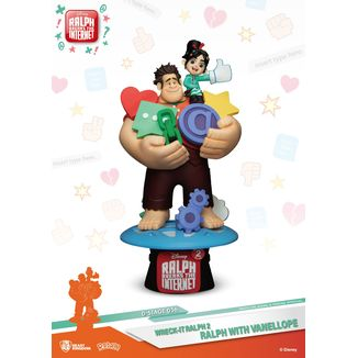 Ralph & Vanellope Figure Ralph Breaks Internet D-Stage