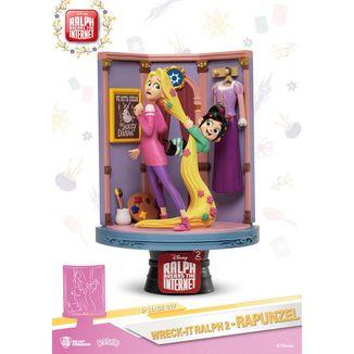 Rapunzel & Vanellope Figure Ralph Breaks Internet D-Stage