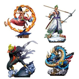Re Birth Logbox One Piece Wanokuni vol 1 Figure Set