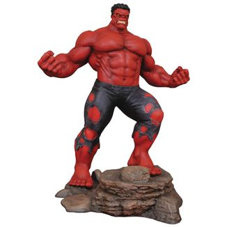 Red Hulk Figure Marvel Gallery