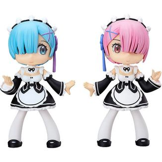 Rem & Ram Figure Re:Zero Yurumari