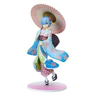 Rem Ukiyo-e Cherry Blossom Figure Re:Zero