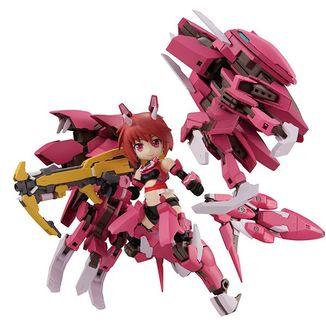 Figura Rin Himukai Alice Gear Aegis Desktop Army