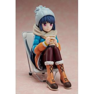 Rin Shima Noodle Stopper Figure Laid Back Camp