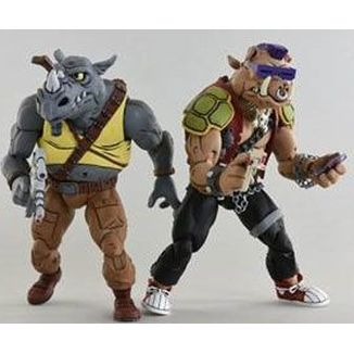 Rocksteady & Bebop Teenage Mutant Ninja Turtles Figure Set
