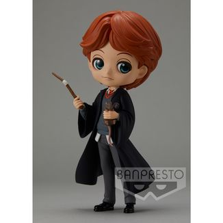 Figura Ron Weasley with Scabbers Harry Potter Q Posket