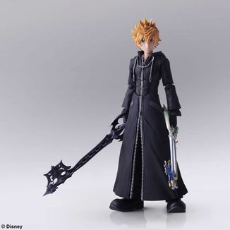 Figura Roxas Kingdom Hearts III Bring Arts