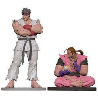 Ryu & Dan Figure Street Fighter