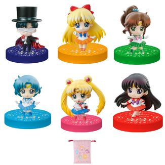 Figura Sailor Moon Petit Chara Puchitto Oshioki Yo 2020 Limited version Set