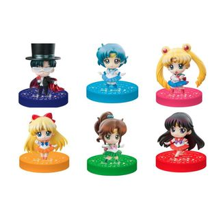 Figura Sailor Moon Petit Chara Puchitto Oshioki Yo 2020 version Set