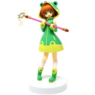 Figura Sakura Kinomoto Cute Frog Card Captor Sakura Clear Card