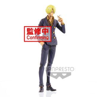 Figura Sanji Manga Dimensions One Piece Grandista
