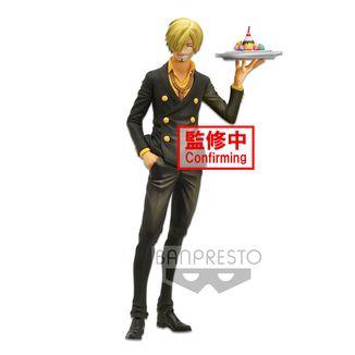 Sanji Figure One Piece Grandista Nero