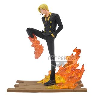 Figura Sanji One Piece Log File Selection Fight Vol 2