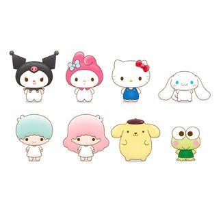 Figura Sanrio Chokorin Mascots Series Set