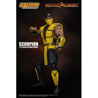 Scorpion Figure Mortal Kombat