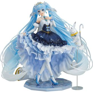 Figura Snow Miku Snow Princess Character Vocal Series 01 Vocaloid
