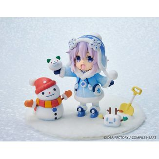 Snow Nep Fuwafuwa Version Figure Hyperdimension Neptunia Dekachiccha