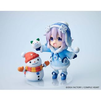 Snow Nep Normal Version Figure Hyperdimension Neptunia Dekachiccha