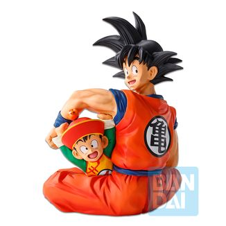 Figura Son Goku & Son Gohan Dragon Ball Z Dragon Ball Ex Ichibansho
