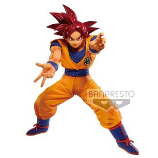Son Goku SSG Figure Dragon Ball Super Maximatic The Son Goku V