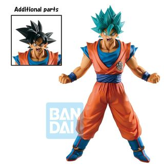 Son Goku SSGSS Figure Dragon Ball Super Ichibansho History of Rivals