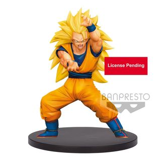 Son Goku SSJ3 Figure Dragon Ball Super Chosenshiretsuden