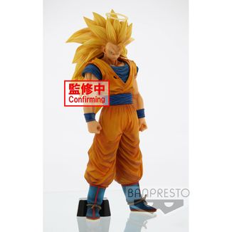 Figura Son Goku SSJ3 Dragon Ball Z Grandista Nero